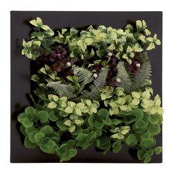 Benzara - Classic and Contemporary Style Polyethylene Floral Wall Home Decor 64063 - Description: