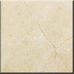 "Crema Marfil Select Polished Marble Floor & Wall Tiles 12"" x 12"" - Lot of 40 Til - 12"" x 12"" Crema Marfil Select Marble Floor and Wall Tile is a great way to enhance your decor with a traditional aesthetic touch. This polished tile is constructed from durable, impervious marble material, comes in a smooth, unglazed finish and is suitable for installation on floors, walls and countertops in commercial and residential spaces such as bathrooms and kitchens."