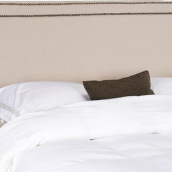 Safavieh - Safavieh Cory Beige Queen Headboard X-A4264RCM - Assembly is required