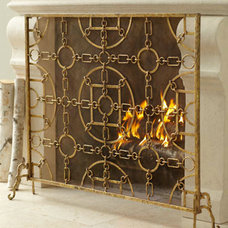 Traditional Fireplace Screens by Neiman Marcus