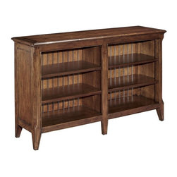 EuroLux Home - New Short Open Bookcase/TV Stand Cherry - Product Details