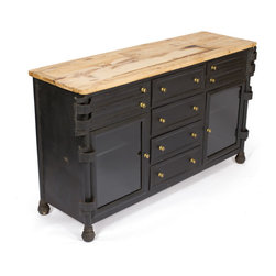 Wooden Dental Cabinet - Fantastic Dental Cabinet made from steel and reclaimed wood and has vintage steel with natural wood finish.perfect for storage.Plae it in any room where you want.