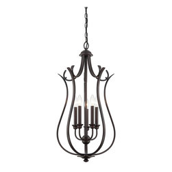 Savoy House Lighting - Savoy House Lighting 3-4503-5-13 Foyer Transitional Foyer Light - Savoy House Foyer lights will bring illumination to any entryway space with a timeless style that you will love for years to come. Choose from pewter, English bronze or polished nickel finishes.