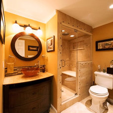 Traditional Bathroom by Absolute Green Homes, Inc