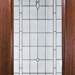"Slab Entry Single Door 96 Mahogany Palacio 1 Panel Radius Lite Glass - SKU#    P62195-cBrand    GlassCraftDoor Type    ExteriorManufacturer Collection    Arch Lite Entry DoorsDoor Model    PalacioDoor Material    WoodWoodgrain    MahoganyVeneer    Price    2130Door Size Options      +$percent  +$percentCore Type    Door Style    Square TopDoor Lite Style    Radius LiteDoor Panel Style    1 PanelHome Style Matching    Door Construction    PortobelloPrehanging Options    SlabPrehung Configuration    Single DoorDoor Thickness (Inches)    1.75Glass Thickness (Inches)    Glass Type    Triple GlazedGlass Caming    Black , Satin NickelGlass Features    Tempered , BeveledGlass Style    Glass Texture    Glass Obscurity    Door Features    Door Approvals    Wind-load Rated , FSC , TCEQ , AMD , NFRC-IG , IRC , NFRC-Safety GlassDoor Finishes    Door Accessories    Weight (lbs)    295.2Crating Size    25"" (w)x 108"" (l)x 52"" (h)Lead Time    Slab Doors: 7 daysPrehung:14 daysPrefinished, PreHung:21 daysWarranty    One (1) year limited warranty for all unfinished wood doorsOne (1) year limited warranty for all factory?finished wood doors"