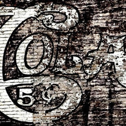 OLD COKE Sign Artwork - Old Coke signs are highly sought after collector's items. Photographer Thurston Howes captured one that you can hang on your wall as an art piece. The limited edition, signed photograph reminds people of the brand's longevity and depicts a simpler time in American history.