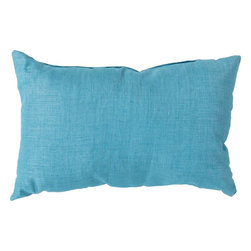 """Surya - Surya ZZ-427 Stunning Solid Pillow, 22"""" x 22"""", Poly Fiber Filler - Looking for a piece that surpasses current trend and will remain timeless in your indoor or outdoor space for years to come? This is the pillow for you. Featuring a functional solid coloring in royal blue, this piece fashions a sophisticated, simple look that easily translates from room to room. .Genuinely faultless in aspects of construction and style, this piece embodies impeccable artistry while maintaining principles of affordability and durable design, making it the ideal accent for your decor."""