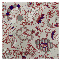 Blancho Bedding - Romantic Garden - Self-Adhesive Wallpaper Home Decor Roll - Wallpaper can transform a room quickly and easily. You can wallpaper all walls, the ceiling or create a large over scaled piece of artwork by framing it. It would be perfect for nearly any room in the house: your living room, bedroom, bathroom, etc. The wallpaper are made of a high quality, waterproof, and durable vinyl and will stick to any smooth surface. It can be washed with gentle pressure and a soft damp cloth Strippable. You can add your own unique style in minutes! This wallpaper is a perfect gift for friend or family who enjoy decorating their homes.