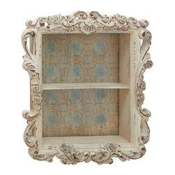 Wonderful Styled Wood Wall Shelf - Description: