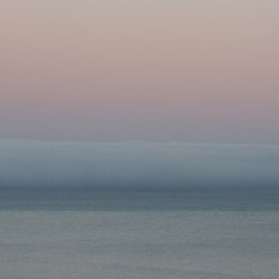 Tim Burns Photography - Rothko Pink and Blue Fine Art Digital Photograph- SignedLimited Edition Archival - Rothko Pink and Blue a strong horizontal seascape of the Pacific Ocean.
