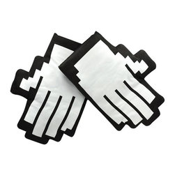Retro Pointer Finger Pixel Mouse Cursor Icon Oven Mitts - This reeks geek indeed. It's an awesome gag gift too.