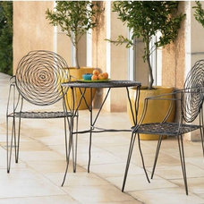 modern outdoor chairs by VivaTerra