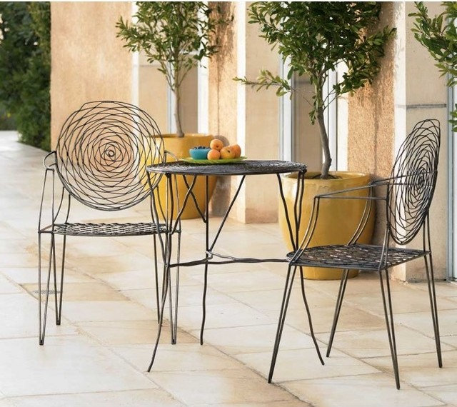 Modern Outdoor Dining Sets by VivaTerra
