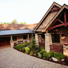 Traditional Exterior by Gardens for Living