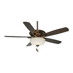 "Casablanca - Casablanca 54080 Academy 54"" 5 Blade Ceiling Fan - Blades & Light Kit Included - Features:"