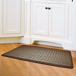 NATCO Kitchen Chef Mat - Standing in the kitchen for an extended period of time can sure make my feet hurt. I would love to put one of these anti-fatigue mats next to my main counter working space.