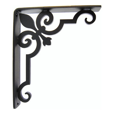 Charlotte Iron Bracket - This is our Charlotte iron bracket, which was designed with many design styles in mind.  We offer this in many sizes and finishes, visit our site for more options.