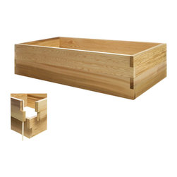 All Things Cedar - All Things Cedar RG48U-2 4ft. Double Raised Garden Earth Box - Our stackable raised bed system is the answer to the growing urban gardening trend. Can be set up anywhere in just minutes. As your gardening skills increase, our system easily expands to meet your needs. Combine different sized kits to create your own custom design/size planter bed. Use indoors and outdoors.    Dimensions:   48 x 24 x 11 in. (w x d x h)