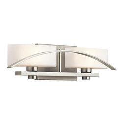 "Kichler - Kichler 45316NI Suspension 20"" Wide 2-Bulb Bathroom Lighting Fixture - Product Features:"