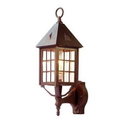 Acclaim Lighting - Outdoor Lighting. Outer Banks Collection Wall-Mount 1-Light Outdoor Architectura - Shop for Lighting & Fans at The Home Depot. The Outer Banks collection 1-light wall-mounted lantern is made of our Durabrite, a plastic material that doesn't rust or corrode and resistant to UV rays. This makes this fixture an ideal choice for harsh environments such as coastal saltwater areas. Adding to the unique design, this fixture features a clear seeded acrylic globe that resists breakage.