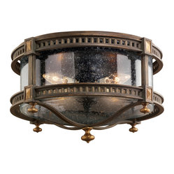 Beekman Place Outdoor Flush Mount
