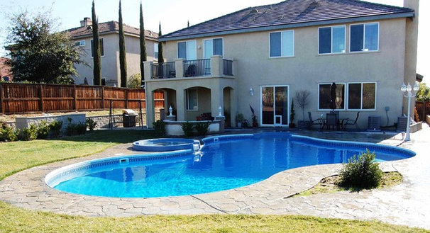 Traditional Hot Tub And Pool Supplies by Secard Pools