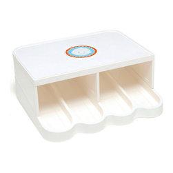 PRK Products, Inc. - PRK Universal Baby Food Jar Organizer, Classic White - 1 piece unit