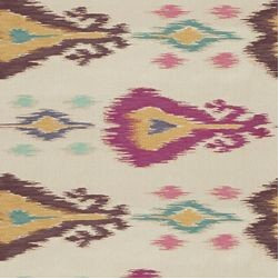 Anjali / Fuchsia - Anjali is a real showstopper. The modern woven pattern features bright, upbeat hues. Calico Corners