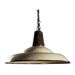 Addison Hanging Lamp - *Made from Hand formed steel