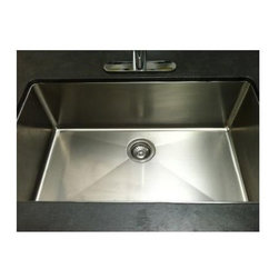"Miseno - Miseno 32"" Undermount Single Basin Stainless Steel Kitchen Sink 16G - Included Free with Your Miseno Sink:"