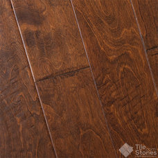 Contemporary Wood Flooring by Tile-Stones