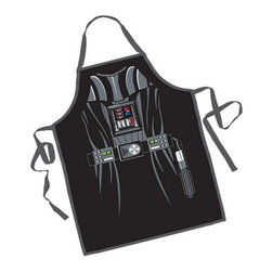 Darth Vader BBQ Apron - Invoke the Dark Side of the Force every time that you grill! The Darth Vader BBQ Apron is the perfect gift for that chef who just can't get enough of the Star Wars series.
