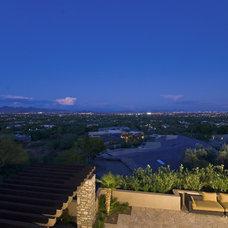 Mediterranean Patio by Hillis Bolte Luxury Builders