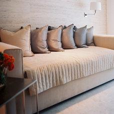 Modern Beds by Jamie Herzlinger