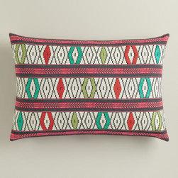 Multicolor Lumbar Pillow -