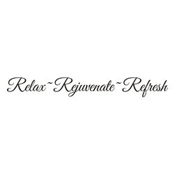 None - 'Relax~Rejuvenate~Refresh' Vinyl Wall Decal Quote - Materials: VinylColors: BlackType: Vinyl wall decal