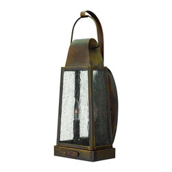 Hinkley - Hinkley Sedgwick Two Light Sienna Wall Lantern - 1774SN - This Two Light Wall Lantern is part of the Sedgwick Collection and has a Sienna Finish. It is Outdoor Capable.