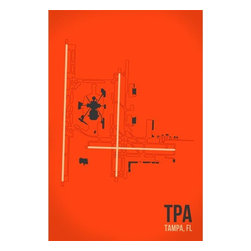 08 Left - 008 Left TPA - Tampa Bay Metal Print - As good as it gets. Ready to hang. Absolutely stunning and tough as rocks.