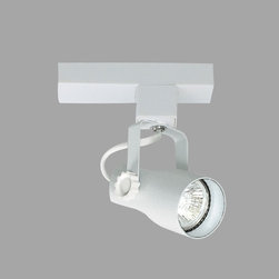Nora Lighting - Nora NTL-2215 Telescope Low Voltage Track Fixture - Low voltage track fixture with low profile, aesthetic design.NTL-2200 electronic transformer required (sold separately).