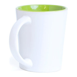 Forte Promo - Green Mugs - A mug so colorful, no one will think you're a drip.Ships in: 1-2 business days