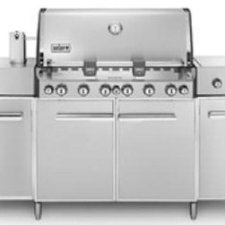 Weber Gas Grills - Six stainless steel burners