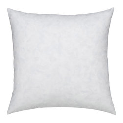 "Auggie Home Collection - Pillow Insert 18""x 18"" - Down-filled 18″ x 18″ pillow insert."