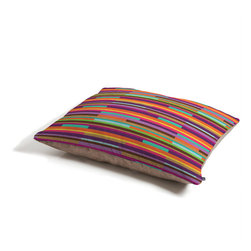 Juliana Curi Color Stripes Dog Bed - Perfect for dogs, cats,heck, even a pig! With our cozy pet bed made of a fleece top and waterproof duck bottom, you're bound to have one happy animal catching some zzzz's in ultimate comfort.