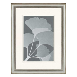 Paragon - Gingkos II - Framed Art - Each product is custom made upon order so there might be small variations from the picture displayed. No two pieces are exactly alike.