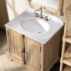"35.5"" Alvito Single Bath Vanity - Natural Oak -"