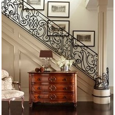 For the Home / Love the staircase railing