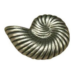 Anne at Home Hardware - Nautilus  Knob, Antique Bronze - Made in the USA - Anne at Home customized cabinet hardware enables even the most discriminating homeowner to achieve the look of their dreams.  Because Anne at Home cabinet hardware is designed to meet your preferences, it may take up to 3-4 weeks to arrive at your door. But don't let that stop you - having customized Anne at Home cabinet knobs and pulls are well worth the wait!   - Available in many finishes.