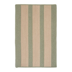 Indoor/Outdoor Boat House, Olive Rug, Sample Swatch