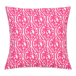 Look Here Jane, LLC - Kimono Candy Pink Pillow Cover - PILLOW COVER
