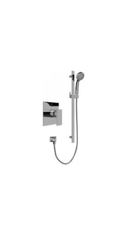 Graff G-7246-C10S-PC-T Contemporary Pressure Balancing Shower Set (Rough and Tri -